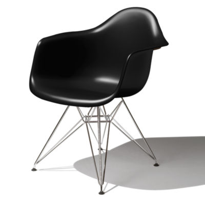 DAR47ZAE8: Customized Item of Eames Molded Plastic Armchair by Herman Miller (DAR)