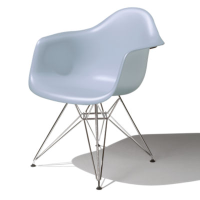DAR47BLEE8: Customized Item of Eames Molded Plastic Armchair by Herman Miller (DAR)
