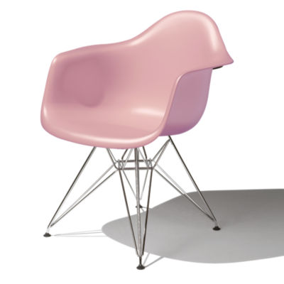 DAR91BLHE8: Customized Item of Eames Molded Plastic Armchair by Herman Miller (DAR)