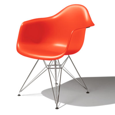 DAR47ZEE8: Customized Item of Eames Molded Plastic Armchair by Herman Miller (DAR)