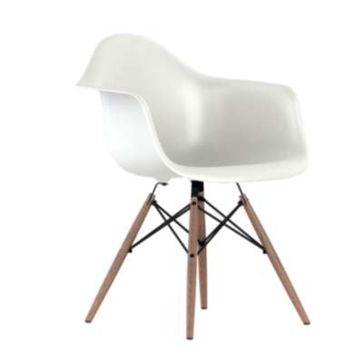 Picture for Eames Plastic Armchair, Dowel Leg Base by Herman Miller