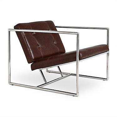 DELANOCHRV2-CHESTNUTBROWNLEATHER: Customized Item of Delano Chair V2 by Gus Modern (DELANOCHRV2)