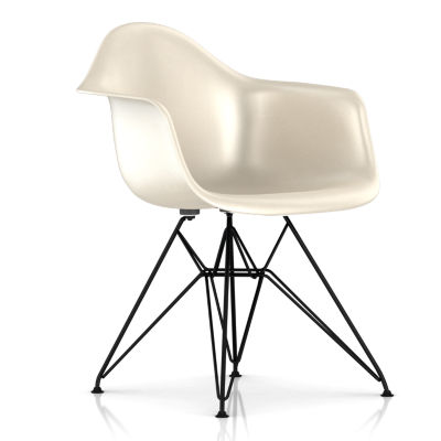 DFAR91111E8: Customized Item of Eames Molded Fiberglass Armchair, Wire Base by Herman Miller (DFAR)