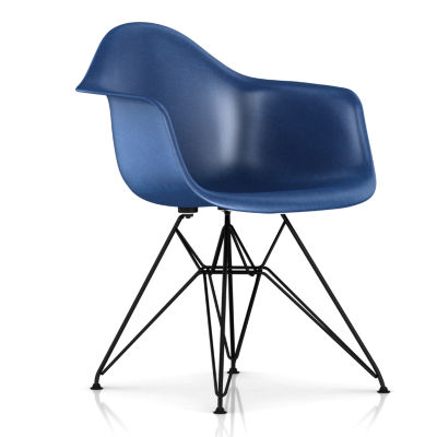 DFAR47113E9: Customized Item of Eames Molded Fiberglass Armchair, Wire Base by Herman Miller (DFAR)