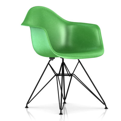 DFAR47116E8: Customized Item of Eames Molded Fiberglass Armchair, Wire Base by Herman Miller (DFAR)