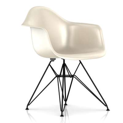 Picture for Eames Molded Fiberglass Armchair, Wire Base by Herman Miller