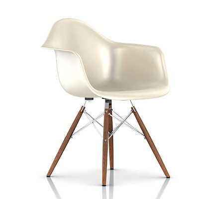 Picture of Eames Molded Fiberglass Armchair by Herman Miller, Dowel Leg Base