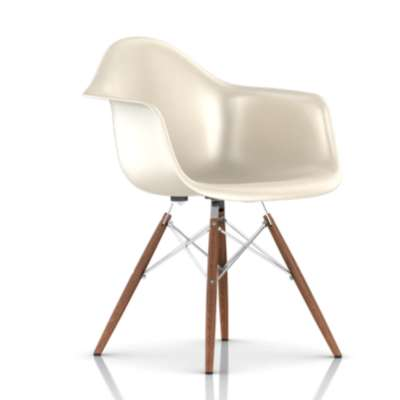 Picture for Eames Molded Fiberglass Armchair by Herman Miller, Dowel Leg Base