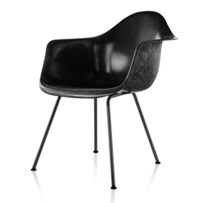 DFAX47118E9: Customized Item of Eames Molded Fiberglass Armchair, 4-Leg Base by Herman Miller (DFAX)