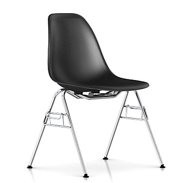 DFSS47115E8: Customized Item of Eames Molded Fiberglass Side Chair, Stacking Base by Herman Miller (DFSS)