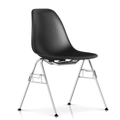 Picture of Eames Molded Fiberglass Side Chair, Stacking Base by Herman Miller