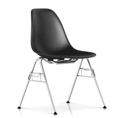 Picture for Eames Molded Fiberglass Side Chair, Stacking Base by Herman Miller