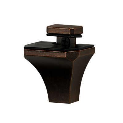 Picture of Diamond Glass Shelf Bracket, Small Set of 2 by Smart Furniture