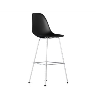 Picture of Eames Molded Plastic Bar Stool by Herman Miller