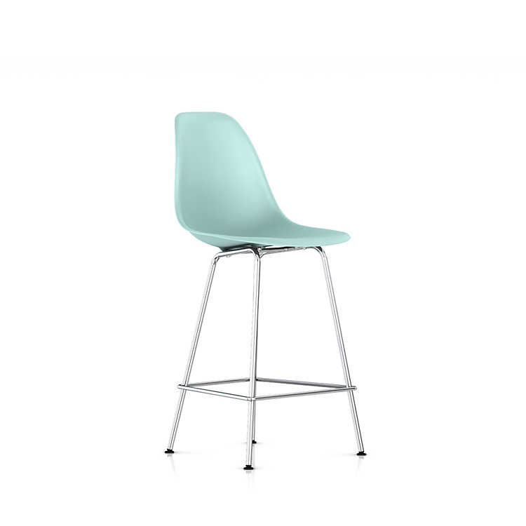 Herman Miller Eames Molded Plastic Chair eames molded plastic counter stoolherman miller | smart furniture