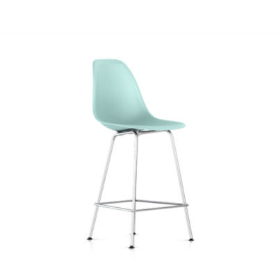 DSHCX474TE8: Customized Item of Eames Molded Plastic Counter Stool by Herman Miller (DSHCX)