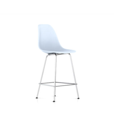 DSHCX47BLEE8: Customized Item of Eames Molded Plastic Counter Stool by Herman Miller (DSHCX)