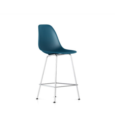 DSHCXBKPBLE9: Customized Item of Eames Molded Plastic Counter Stool by Herman Miller (DSHCX)