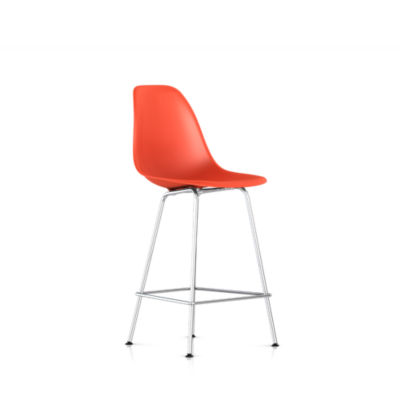 DSHCX47ZEE8: Customized Item of Eames Molded Plastic Counter Stool by Herman Miller (DSHCX)