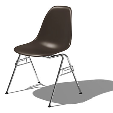 DSSNCHE847PBLE8: Customized Item of Eames Molded Plastic Side Chair by Herman Miller (DSSNCHE8)