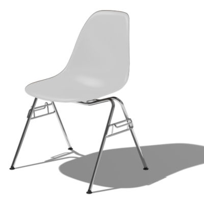 DSSNCHE847ZME8: Customized Item of Eames Molded Plastic Side Chair by Herman Miller (DSSNCHE8)