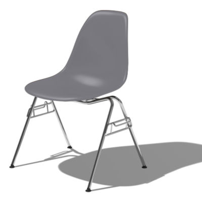 DSSNCHE847CHLE8: Customized Item of Eames Molded Plastic Side Chair by Herman Miller (DSSNCHE8)