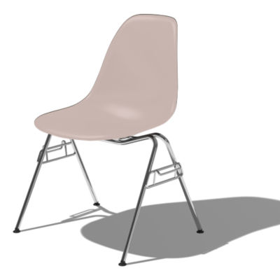 DSSNCHE847STNE8: Customized Item of Eames Molded Plastic Side Chair by Herman Miller (DSSNCHE8)