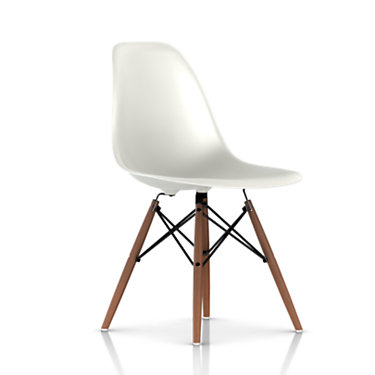 DSW47A2PBLE9: Customized Item of Eames Dowel Leg Side Chair by Herman Miller (DSW)