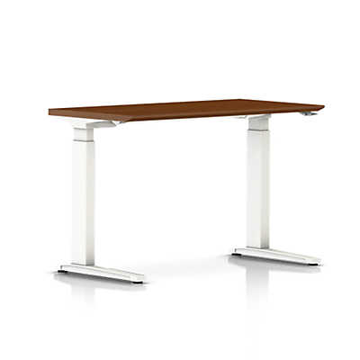 Renew Sit To Stand Rectangular Table With C Foot