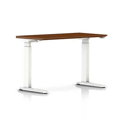Herman Miller Adjustable Desk Renew Sittostand Rectangular Table With Cfoot  Smart Furniture