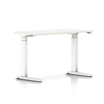 Picture of Renew Sit-to-Stand Rectangular Table with C-Foot by Herman