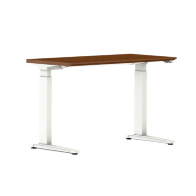 Picture of Renew Sit-to-Stand Rectangular Table with C-Foot by Herman Miller