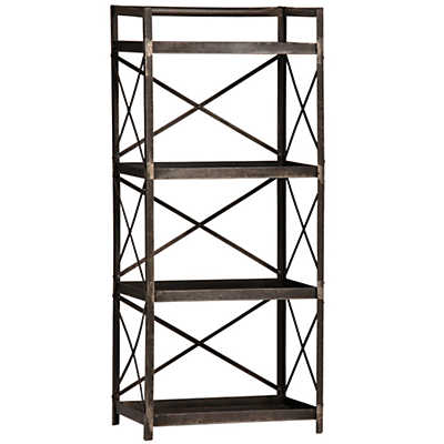 Oxford Short Bookcase By Dovetail