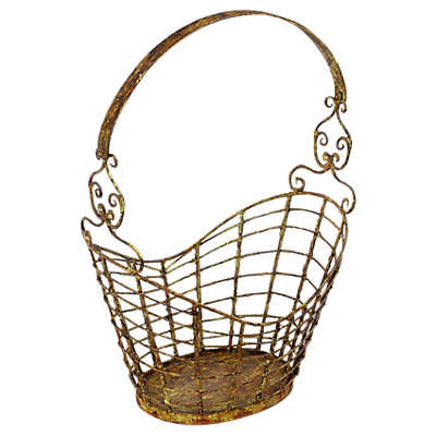 Picture of Iron Magazine Basket by Dovetail
