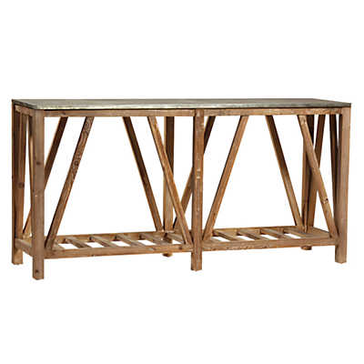 Picture of Clifton Sofa Table by Dovetail