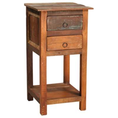 Picture for Nantucket 2 Drawer 1 Shelf Side Table by Dovetail