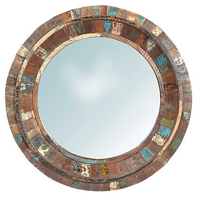 Picture of Nantucket Round Mirror by Dovetail