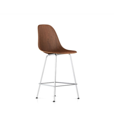 Picture of Eames Molded Wood Counter Stool by Herman Miller