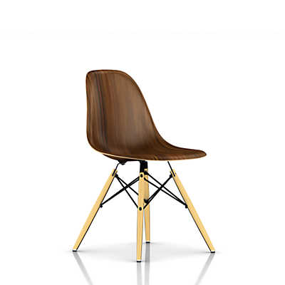Picture of Eames Molded Wood Side Chair with Dowel Leg Base by Herman Miller