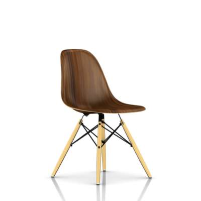 Picture for Eames Molded Wood Side Chair with Dowel Leg Base by Herman Miller