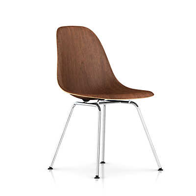 Picture of Eames Molded Wood Side Chair with 4-Leg Base by Herman Miller