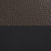 """Request Free Dark Brown Leather / Black Swatch for the New Standard 78"""" Sofa by Blu Dot"""