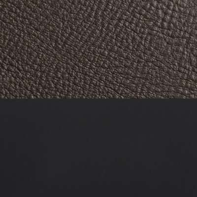 "Dark Brown Leather / Black for New Standard 78"" Sofa by Blu Dot (NEWSTANDARD78)"