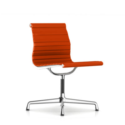EA306SL1R08: Customized Item of Eames Aluminum Armless Side Chair by Herman Miller (EA306)