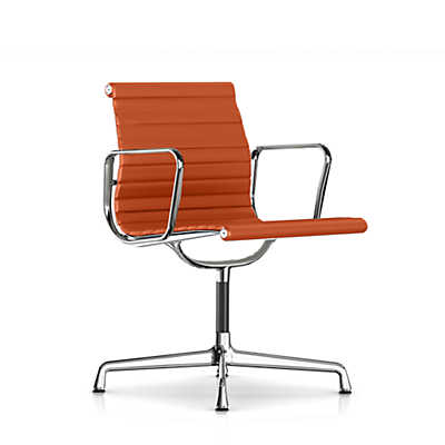 Picture of Eames Aluminum Side Chair with Arms by Herman Miller