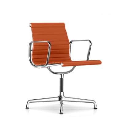 Picture for Eames Aluminum Side Chair with Arms by Herman Miller
