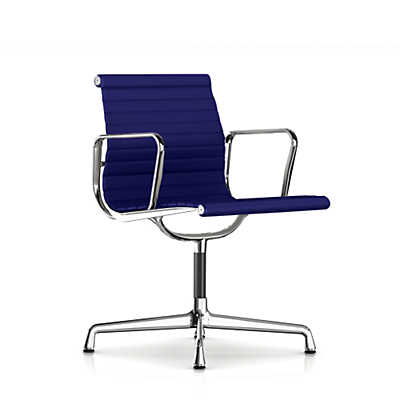 Picture of Eames Aluminum Side Chair with Arms, Fabric by Herman Miller