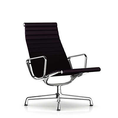 Picture of Eames Aluminum Lounge Chair by Herman Miller, Fabric