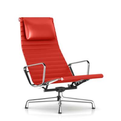 Picture for Eames Aluminum Lounge Chair with Headrest by Herman Miller