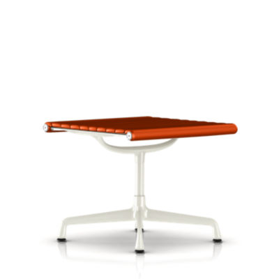 EA323911R01: Customized Item of Eames Aluminum Ottoman by Herman Miller (EA323)